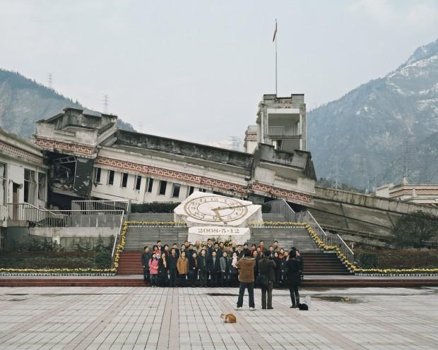 Ruínas do terremoto de Sichuan, China. Crédito Ambroise Tézenas