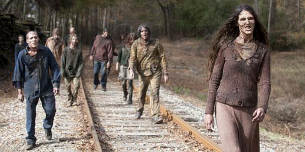 """Cena da série """"The Walking Dead"""". Crédito Reprodução"""