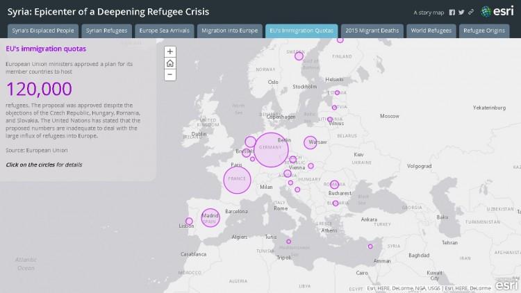 """Tela do """"Syria: Epicenter of a Deepening Refugee Crisis"""". Crédito Divulgação"""
