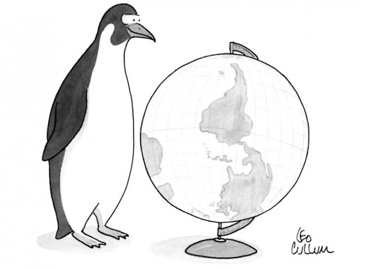 """Ilustração publicada na revista """"New Yorker"""". Crédito Reprodução"""