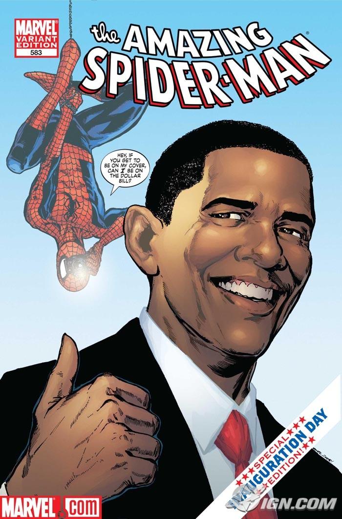 Gibi de 2009 com o presidente Barack Obama. Crédito Reprodução